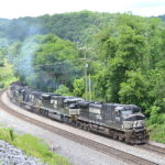 Eastbound Freight Train - Front Royal, Virginia - July 5, 2016