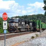 NS Train 290 Nearing Front Royal led by NS D9-44CW #9969 on 8/22/2016