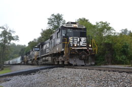 Norfolk Southern Train 36Q led by NS D8-40C #8848 on 10/1/2016