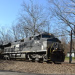 NS D9-44CW #9170 leads train M3R east near Markham, Va on 3/5/2017