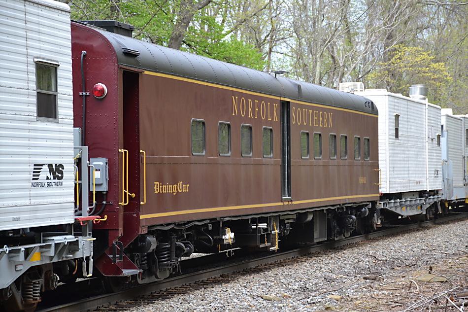 Norfolk Southern dining car #960401