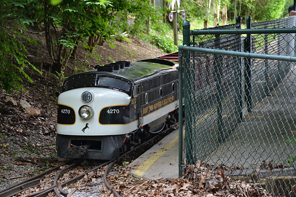 Mill Mountain Zoo Train