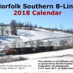 Norfolk Southern B-Line 2018 Calendar