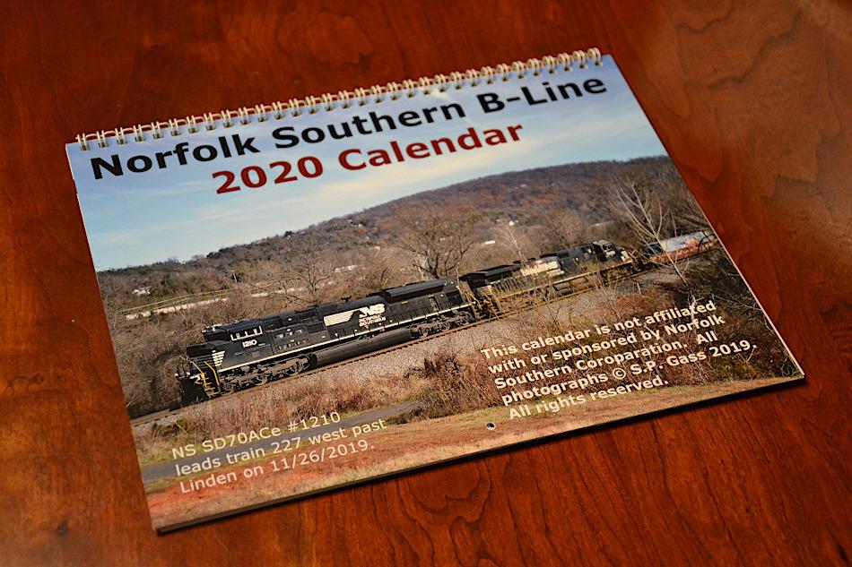 2020 Norfolk Southern B-Line Calendar